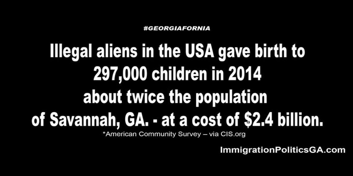 Illegals birth Savannah