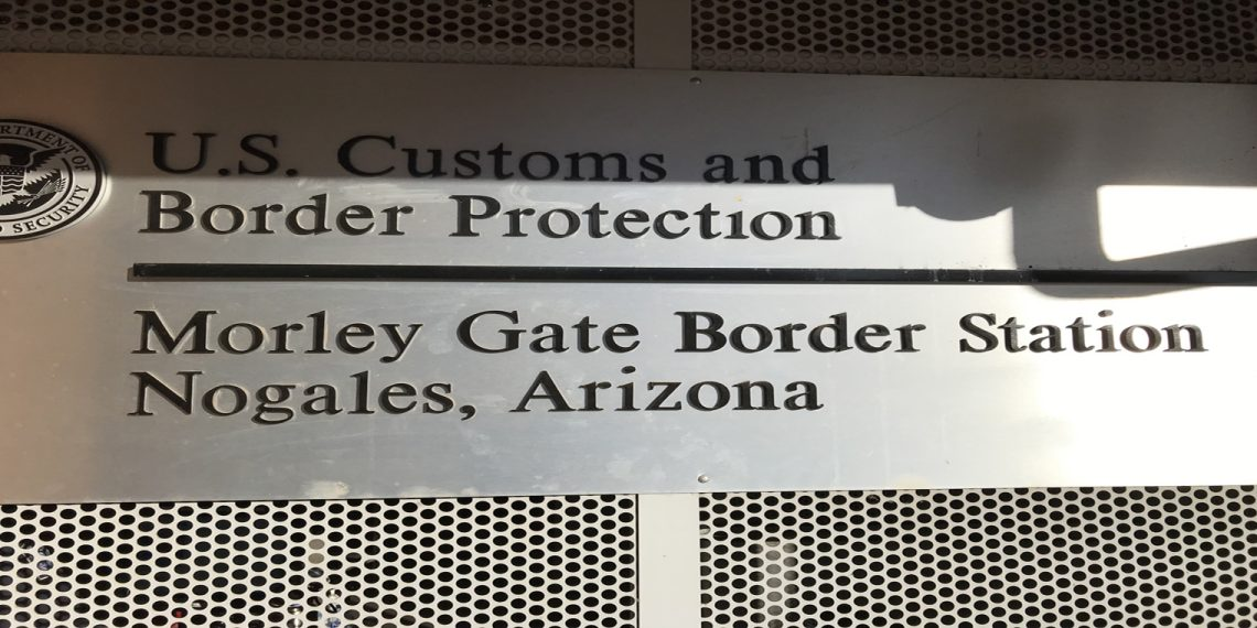 Nogales  border sign
