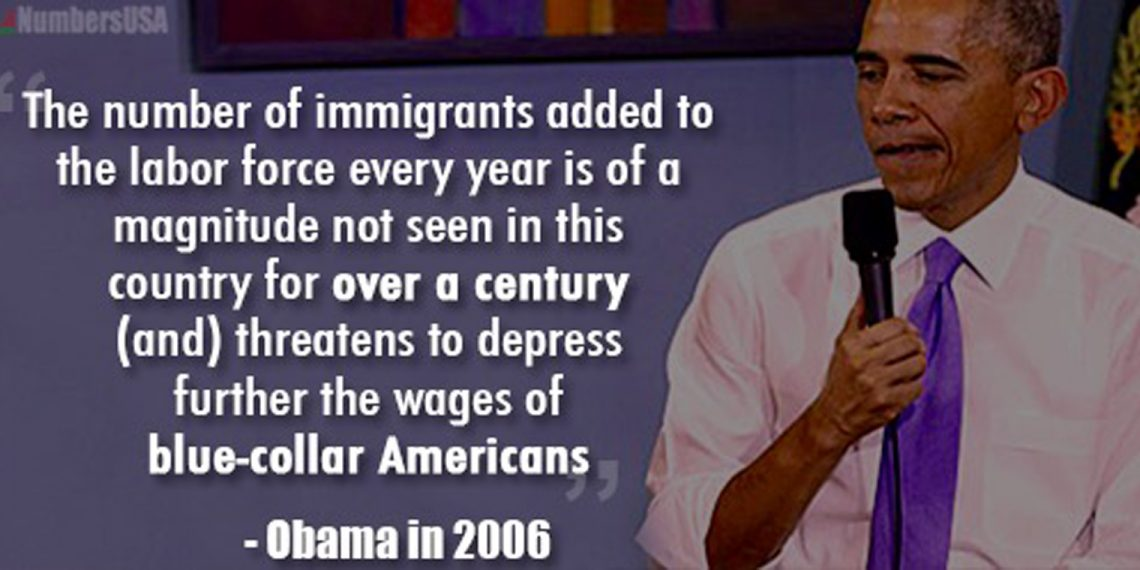 Obama number of immigrants