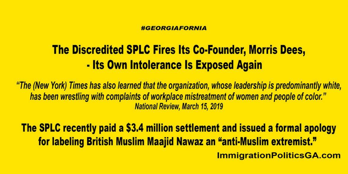 SPLC own intolerance