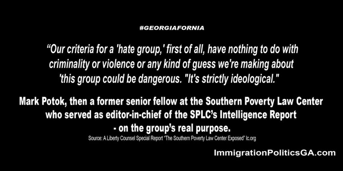 SPLC not violence