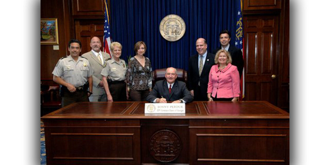 DA at bill signing SB350 2008