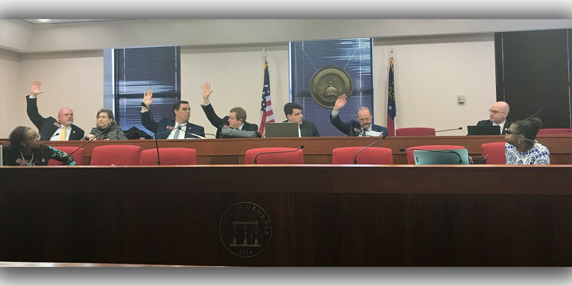 HB 1083 committee vote