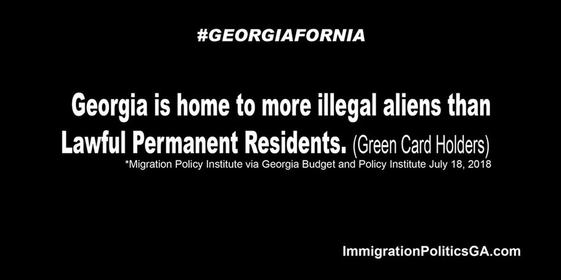 Ga home to more illegals than Green card holders Good version