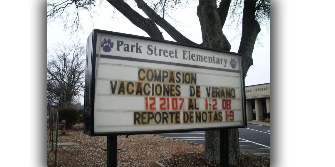 Park St elementary school