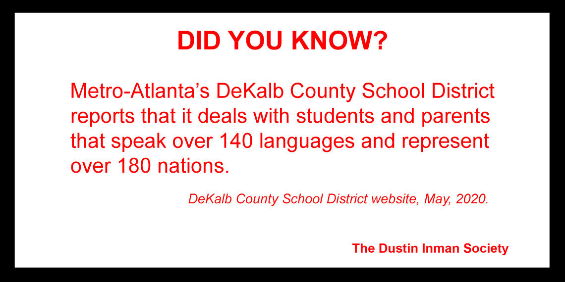 DeKalb 140 languages